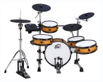 Light brown coloured XM World Groove Series J-8SR eDrum kit