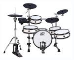White Wood coloured XM World Groove Series J-8SR eDrum kit