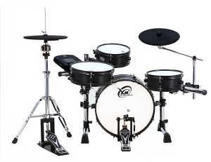 XM Busker Series B18-9SR eDrum kit expanded with extra tom tom